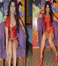 Showing Off Her Panties